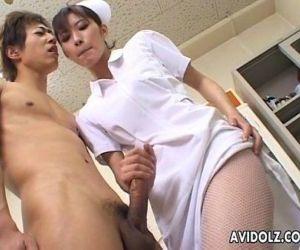 Horny Nurse Riko..