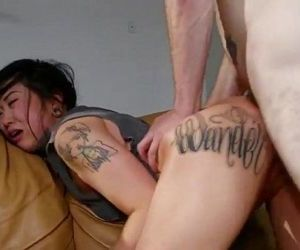 Hot tattooed Asian..