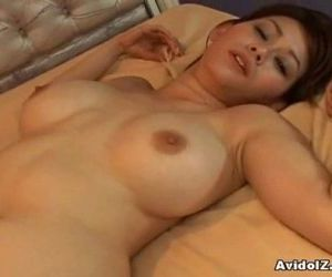 Sexy Rina Wakamiya fucked from..
