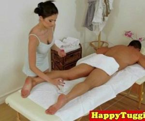Real japanese masseuse pampering..