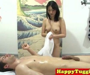 Real nuru masseuse plays with..