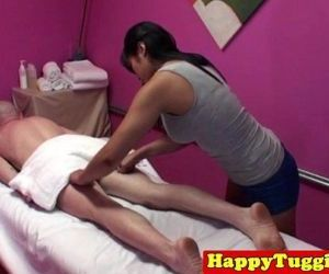 Asian masseuse in..
