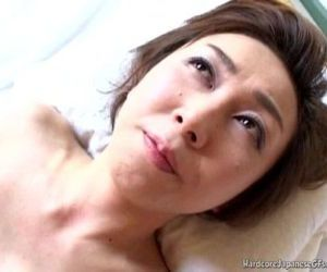 Sultry Japanese MILF Tastes Some..