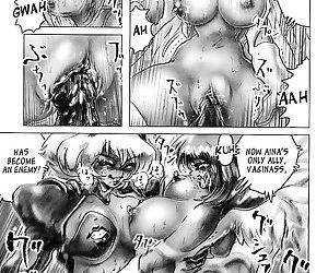 Seijuu Shoujo Sen Vaginass Kanzenban - Sexbeast Fight Vaginass - part 9
