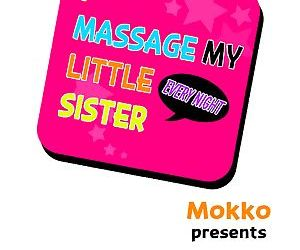 I Massage My Sister Every Night Ch 1-38