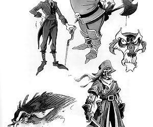 Mindsight - The Frank Cirocco Sketchbook - part 3