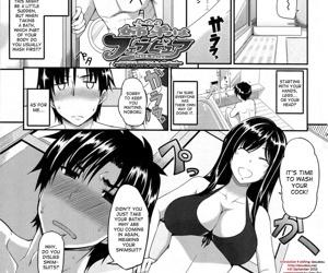 Futari wa Fera Pure - Mitarai-ryuu Kyokubu Senjo~ Jutsu!!! - Fela Pure Mitarai Style Genital Washing Technique