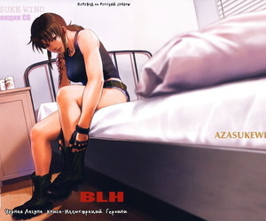 C95 AZASUKE WIND AZASUKE BLH Black Lagoon Russian Shadow