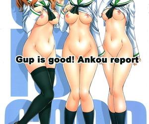 COMIC1☆13 Kamogawaya Kamogawa Tanuki Gup is good! Ankou report Girls und Panzer English Doujins.com