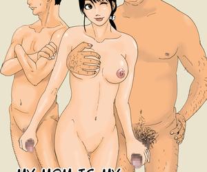 Kiyokawa Zaidan Kiyokawa Nijiko Ore no Kaa-san wa Oyaji no Onna - My Mom Is My Fathers Woman Spanish