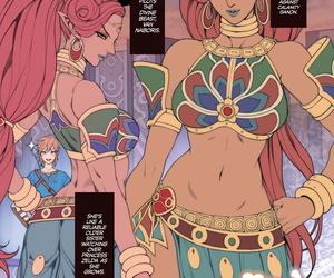 Oda non Rakugaki Ero Manga- Breath of the Wild no Urbosa-sama! - Random Porn Manga- Breath of the Wilds Urbosa! The..