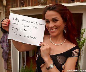 Fetish whore Monica Bollocksy..