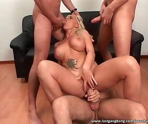 Perfect mature gets fucked by many dudes