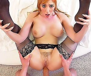 PureMature MILF Lauren Phillips surprises bf with valentines anal fuck