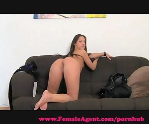 FemaleAgent. MILF loves an incredible ass