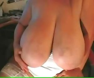 Massive Saggy titted Granny