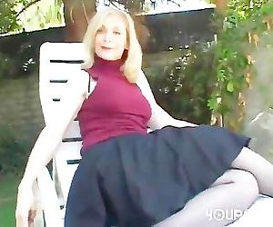 Hot Gilf Nina Hartley gets Naughty Anarchy