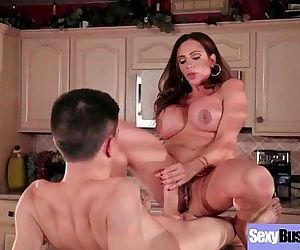 Slut Housewife With Big Round Juggs Love Sex Action mov-05