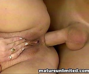 In and out granny gets ass fuck - 8 min