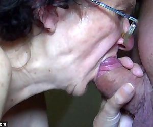 OldNanny Mom and Teen masturbating and sucking dick boyfriend - 8 min HD
