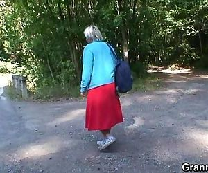 He picks up and bangs granny outside - 6 min