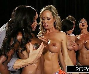 Fitness Contest OrgyBrandi Love, Diamond Jackson, Kendra Lust, Jewels JadeHD