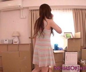 Japanese MILF secretary rammed - 8 min HD