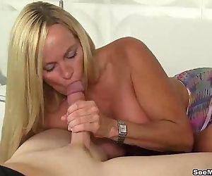 seemomsuck-Blonde milf blowjobHD