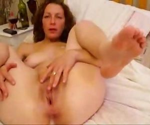 My wife loves to be watched while she masturbates. Home made - 1 min 19 sec