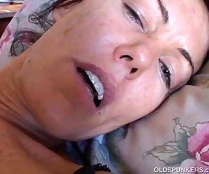 Nancy Vee kinky brunette MILF - 5 min
