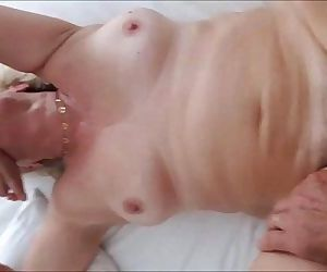 60 Year Old Granny Loves Cock - Homemade - 3 min