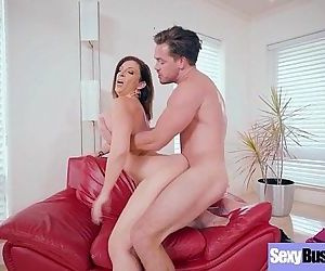 Intercorse On Cam With Horny Sexy Busty Housewife video-23