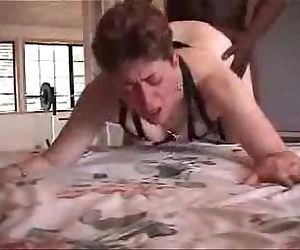 My pervert mature wife has fun with a black bull. Amateur - 4 min