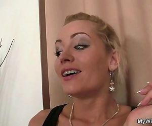 She rides her son in law cock - 6 min