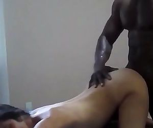 Husband likes his wife to be fucked hard by a big black guy with his big cock 28 min HD