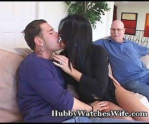 Horny Cougar Gets Holiday Gift - 5 min