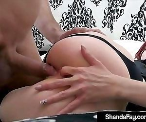Horny HouseWife Shanda Fay Stuffs Muff & Gets Anal Fucked! 11 min HD+