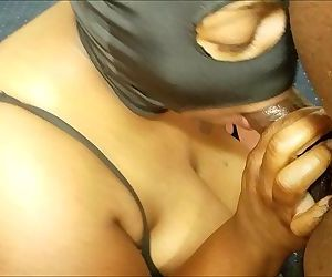 ORAL SLUT PUSSY FOUNTAIN SUCKS N STROKE COCK TILL IT SHOOTS ON HER BIG TITSHD