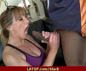 Huge black cocks in wet milfs pussy 25