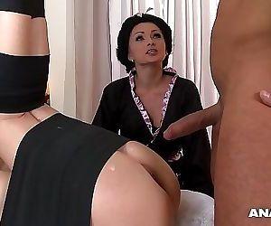 Japanese Type Anal Threesome With Geishas Ivana Sugar And Alice 30 min HD+