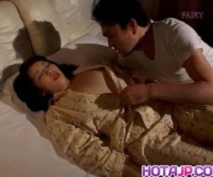 Reiko Hanasaki has nooky rubbed with thong and nailed big time - 10 min