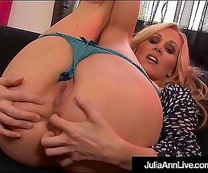 Pussy Rubbing Milf Julia Ann Clamps Nipples While She Bates! 5 min HD+