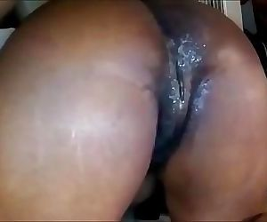 Ebony has Fresno California anal sex 8 min HD