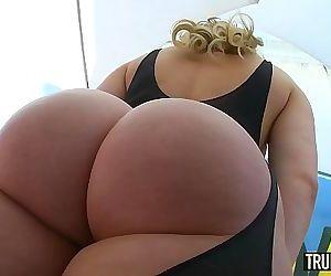 TRUE ANAL Bubble butt Mia Malkova anally gaped 12 min HD+