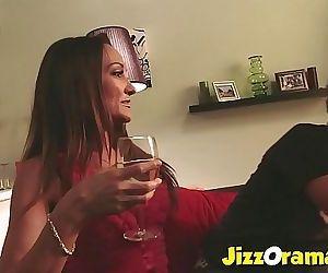 Hot Milf Fucks her Sons Friend 20 min HD+