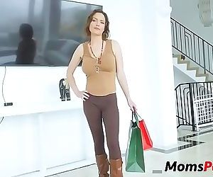 Son catches mom changing & fucks her 8 min HD