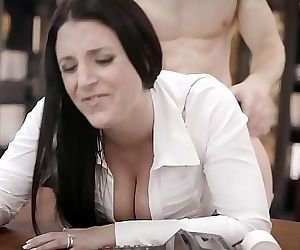 Get the fuck out off my office!Angela WhitePURETABOO 6 min