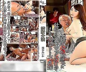 Deliciosa Esposa tiene que cuidar al suegro viejo, marido tonto VER Completo:..