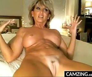Horny MILF Has Fun With Her Pussy