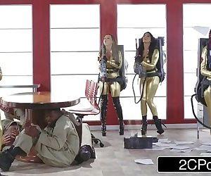 Ghostbusters OrgyAna Foxxx, Monique Alexander, Nikki Benz, Romi RainHD